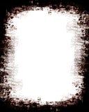 Grunge textured border. Stylish grunge border for designer's ideas, high resolutiona nd detail, fab background royalty free illustration