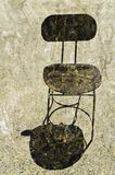 Grunge Textured Chair Royalty Free Stock Photography