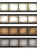 Grunge Textured Film Strip Royalty Free Stock Image