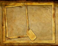 Grunge Textured Frame Background Stock Image