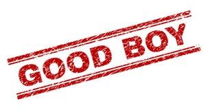 Free Grunge Textured GOOD BOY Stamp Seal Stock Images - 136930554
