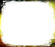 grunge textured graniczny Zdjęcie Stock