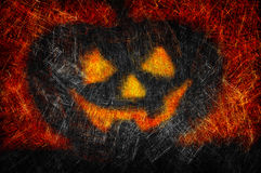 Grunge textured Halloween night background Royalty Free Stock Photography
