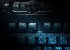 Grunge textured keyboard Royalty Free Stock Images