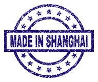 Shanghai China Stamp Stock Vector Illustration Of Famous