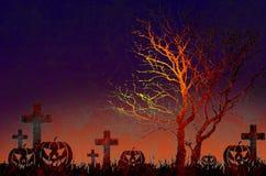 Grunge textured o fundo da noite de Halloween Imagem de Stock