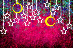 Grunge textured para o dia alegre do xmas Imagem de Stock