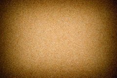 Grunge textured recycled paper with natural fiber parts Stock Photography