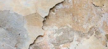 grunge textured tła Stara gipsująca ściana z multilayer krakingowym narzutem Grunge tekstura z głębokim wzorem dalej zdjęcia royalty free