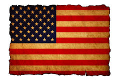 Grunge textured of USA flag Royalty Free Stock Photos