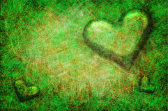 Grunge textured for Valentines day Stock Photography