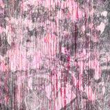 Grunge texturerade bakgrund med skrapor för din design Rosa färger Royaltyfri Foto