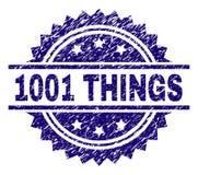 Grunge texturerade stämpelskyddsremsan för 1001 SAKER royaltyfri illustrationer