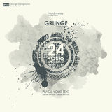 Grunge textures. Abstract  grunge background poster for party. Stock Photos