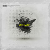Grunge textures. Abstract vector grunge background poster for party. Grunge print for t-shirt. Abstract dirt backgrounds Stock Photography