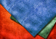 Grunge textures and backgrounds. Three color grunge textures and backgrounds Royalty Free Stock Image