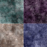 Grunge Textures Set vector illustration