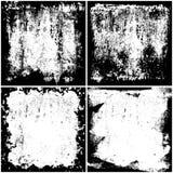 Grunge textures set Stock Images