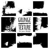 Grunge textures on white background Stock Image