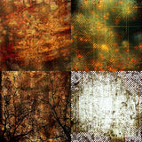 Grunge textures Royalty Free Stock Image