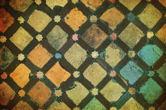 Grunge tile background Stock Images
