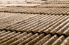 Grunge tile roof background Royalty Free Stock Photo