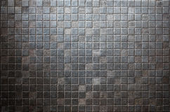 Grunge tiled metal background or texture Royalty Free Stock Photo