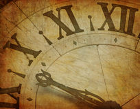 Grunge time Royalty Free Stock Photo