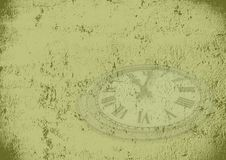 Grunge time background Royalty Free Stock Image