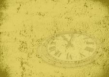 Grunge time background stock illustration