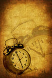 Grunge Time Background royalty free stock photography