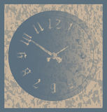 Grunge Time Background Royalty Free Stock Photos