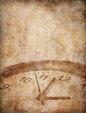 Grunge time concept background Royalty Free Stock Photography