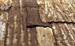 Grunge Tin Roof Foto de archivo libre de regalías