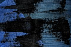 Grunge tkaniny brudna Ultra błękitna Bieliźniana powierzchnia dla egzaminu próbnego lub projektanta use, książkowej pokrywy próbk Zdjęcia Royalty Free