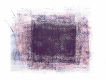 Grunge tkaniny tekstury łata Odizolowywająca na Białym tle obraz royalty free
