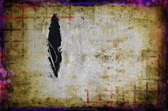 Grunge torn fabric background Stock Image