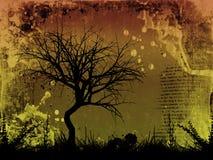 Grunge tree Royalty Free Stock Image