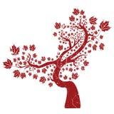 Grunge tree Stock Photo
