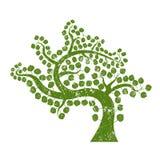 Grunge tree Stock Photography