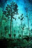 Grunge trees Royalty Free Stock Image
