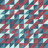 Grunge triangle pattern Royalty Free Stock Images