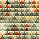 Grunge triangle seamless pattern royalty free illustration