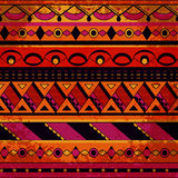 Grunge tribal pattern Stock Photo