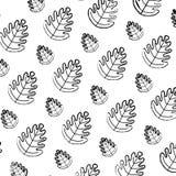 Grunge tropical leaf botany nature background. Vector illustration vector illustration