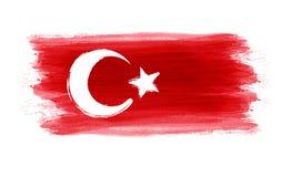 Grunge Turkey flag Stock Image