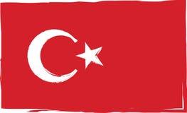Grunge TURKEY flag or banner Stock Photo