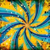 Grunge twirl background Royalty Free Stock Photography
