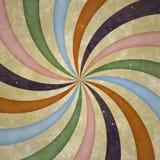 Grunge twirl tło Fotografia Royalty Free