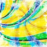 Grunge twirlbakgrund Arkivfoto